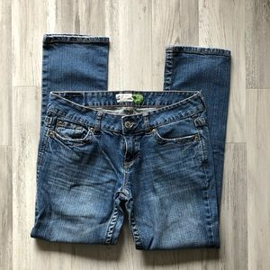 Aeropostale Bayla Skinny Jeans 9/10 Short